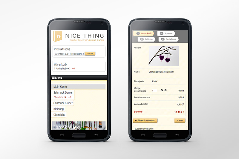 NICE THING Website